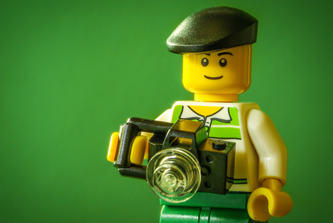 Legographer | Fun collection of a Lego mini-fig and his camera for the month of Feb 2015. Gotta love his camera and flat cap | by Chris Johnson of cJohnsonPhoto.com
